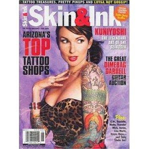 International subscription of Skin & Ink magazine