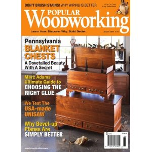 International Subscription Of Popular Woodworking Magazine