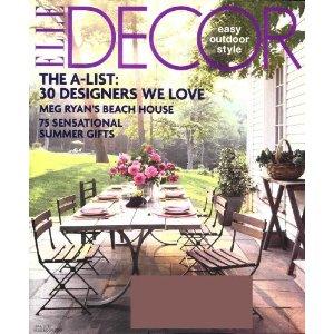 International Subscription Of Elle Decor Magazine
